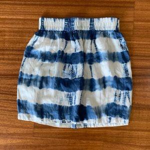 Summer Club Monaco Tie Dye Skirt